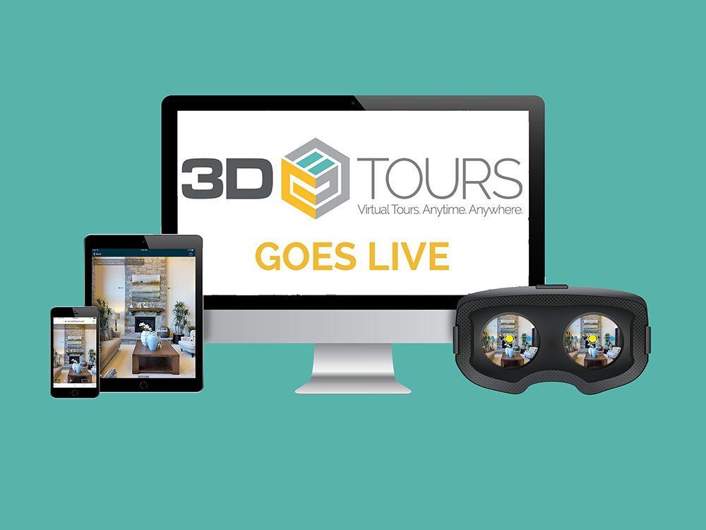 3D Tours Goes Live